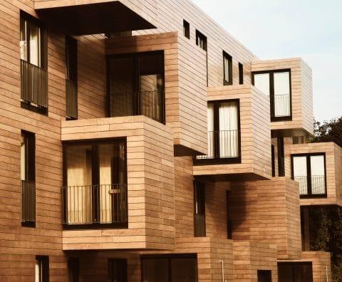 Holz wird urban