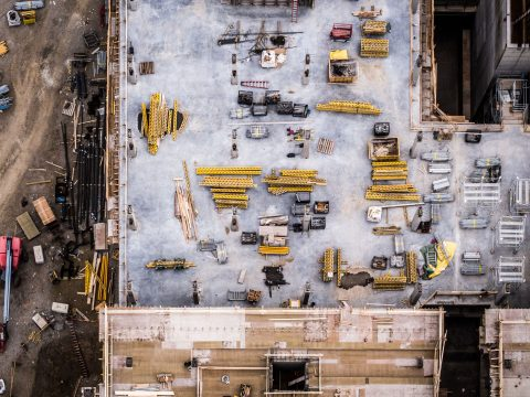 Baustellenlogistik